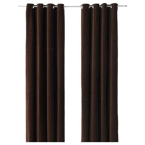 dark brown curtain panels 15 best collection of dark brown velvet curtains curtain