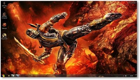 download themes for windows 7 ultimate from vikitech mortal kombat windows 7 theme by vikitech download
