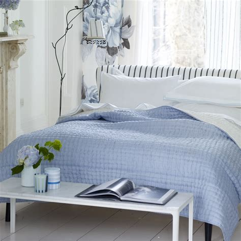 designers guild bedding designers guild chenevard sky and chalk quilts and shams