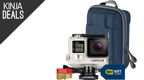 gopro 4 best buy best buy s packing in freebies with the gopro hero4 silver