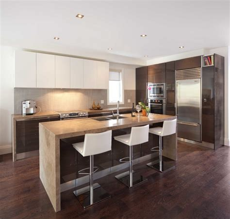 modern interior open kitchens designs with recessed get your home s recessed lighting right