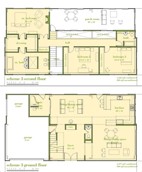 Master Bedroom Upstairs Floor Plans by Modern House Plans By Gregory La Vardera Architect 6030