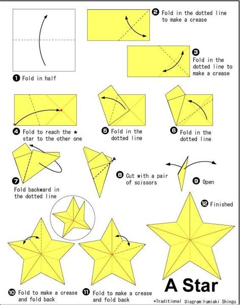 Origami Start - origami start with any size square of midweight