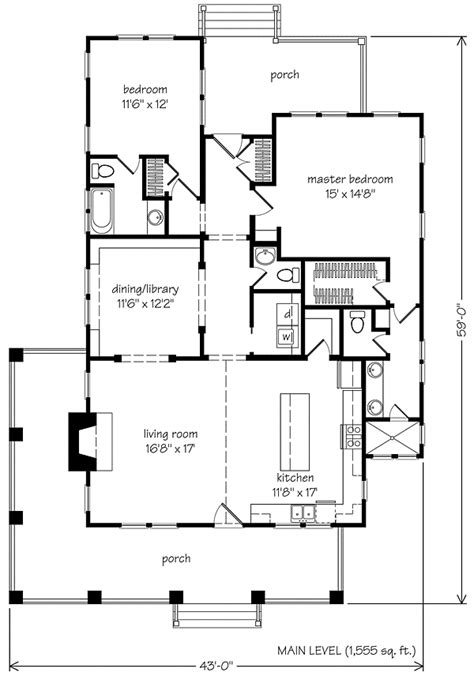 Southern Living Floorplans Whisper Creek Allison Ramsey Architects Inc Southern