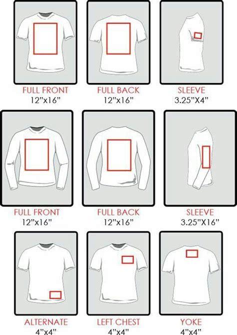 t shirt layout size htv sizing for shirts how big do i make my image vinyl