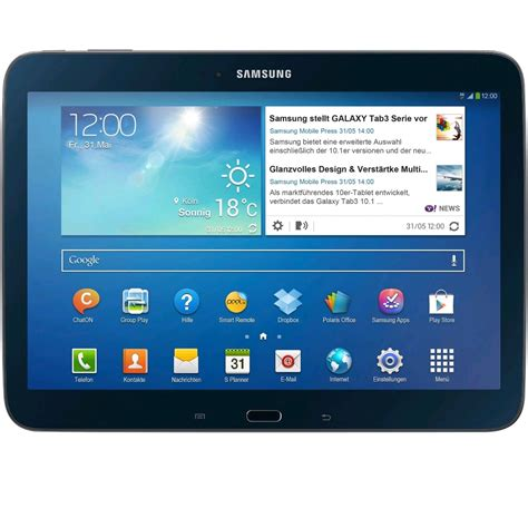 Second Samsung Galaxy Tab 3 10 1 Samsung Galaxy Tab 3 10 1 Quot Gt P5210 Wifi 16gb Black Ap Gt P5210 Bl Expansys Usa