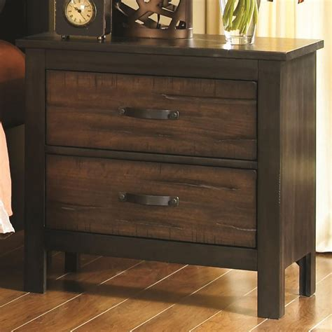 Black Wood Nightstand Coaster 202302 Black Wood Nightstand A Sofa Furniture Outlet Los Angeles Ca