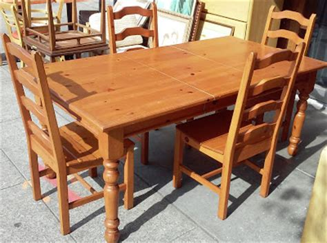 Knotty Pine Dining Room Set by Uhuru Furniture Collectibles Sold Knotty Pine Country