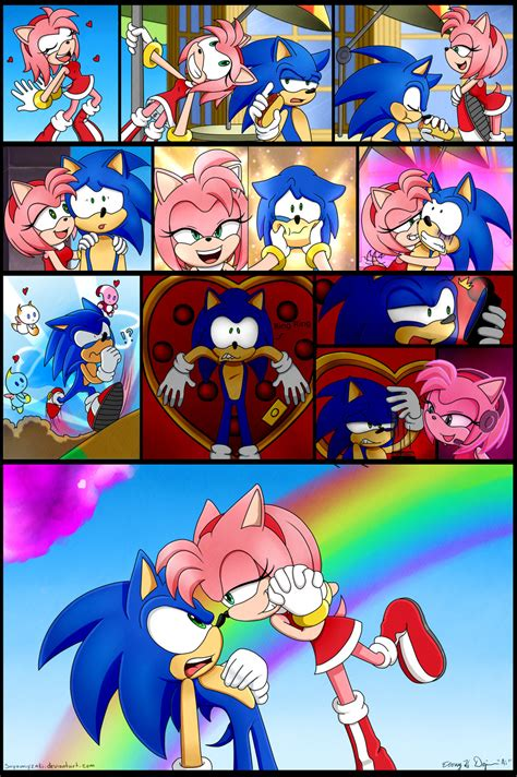 we are in love we are in love sonic version by sayamiyazaki on deviantart