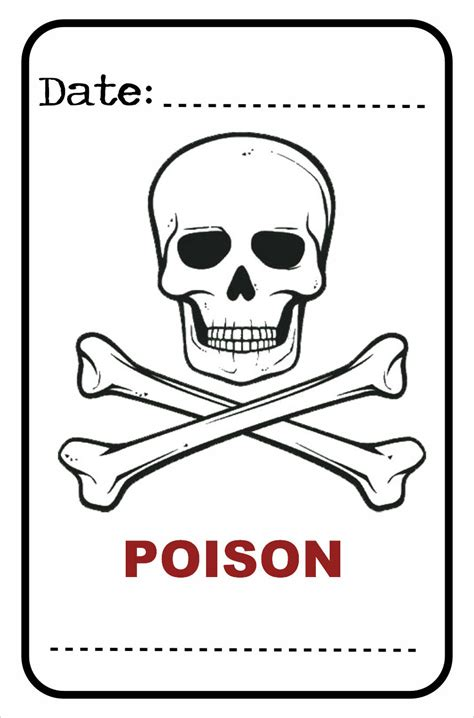 printable poison labels 1000 images about halloween labels printables on