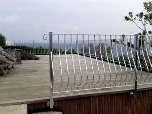 Balcony Balustrade Balustrades For Cornwall Stainless Steel And Glass