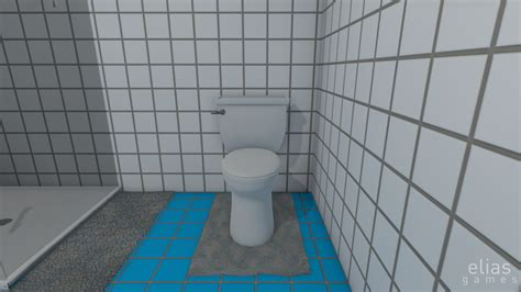 bathroom simulator is a gross game motherboard