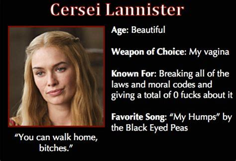 Cersei Lannister Meme - game of thrones funny meme cersei game of thrones