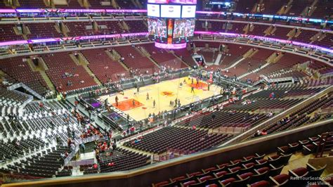 united center section 304 chicago bulls rateyourseats