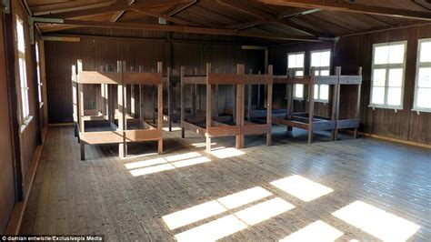 Concentration C Bunk Beds Inside The Infamous Mauthausen Concentration Cs Daily Mail