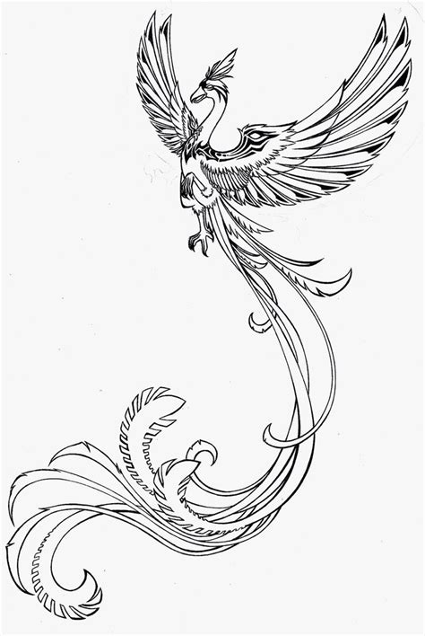 black and white phoenix tattoo designs side bangs haircuts tattoos black and white