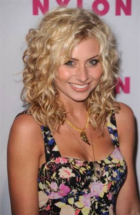 loose spiral perm medium length hair glamour long spiral perm hairstyles with little curly hair