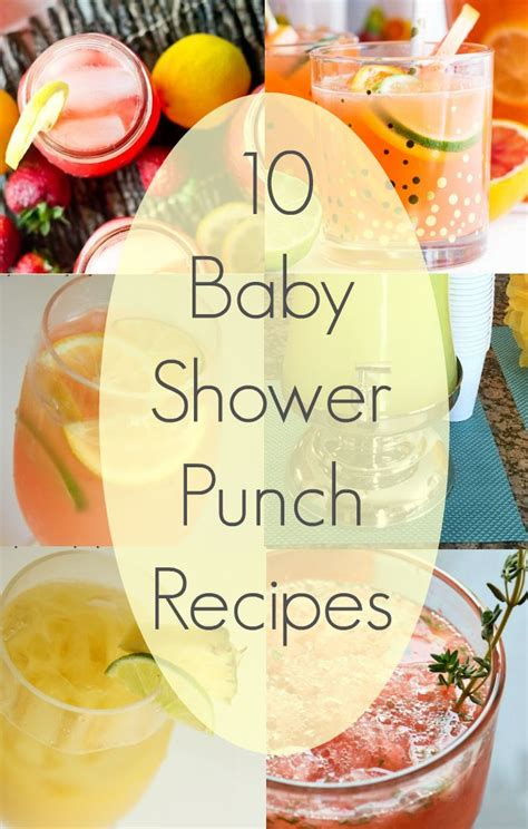 Baby Boy Shower Recipes baby shower drinks pink punch recipes baby shower