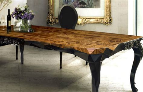 cool dining table find 5 unique wood dining tables interior decoration