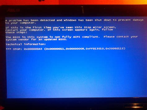 Kenapa Laptop Asus Blue Screen asus k50ab blue screen przy formacie win 7 elektroda pl