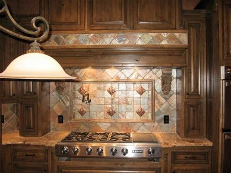 copper quartzite kitchen backsplash for the home