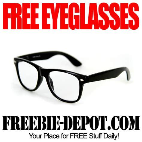 free eyeglasses freebie depot