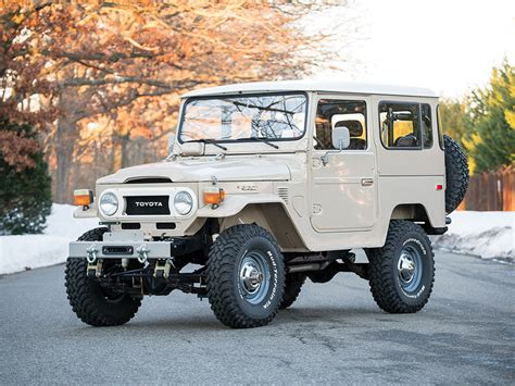 land cruiser fj40 toyota fj40 land cruiser offered at auction without