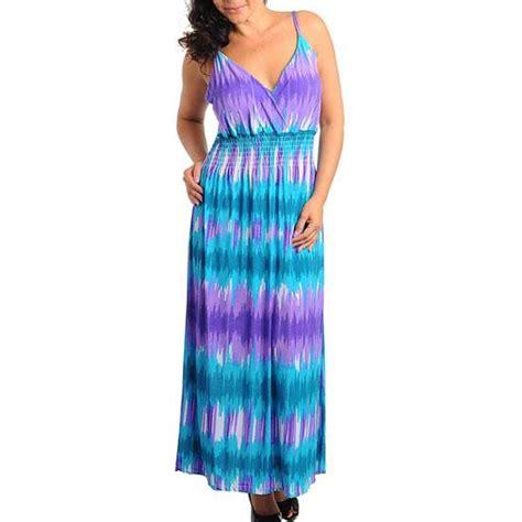 pd 19 1x 2x 3x 4x plus size padded straps maxi sun vacation dress blue ebay