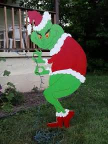 grinch christmas creeping grinch mikesyarddisplays