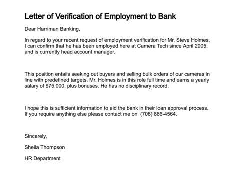 sample letter verifying employment income docoments ojazlink