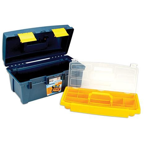 Stabilo 4 All Inner Box Blue pro storage box with inner tray blue yellow