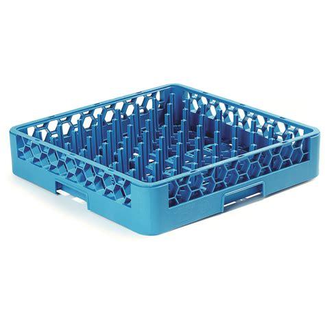 Racks Blue Plate by Carlisle Rtp14 Size Dishwasher Plate Tray Peg Rack Blue