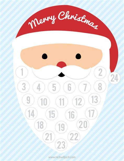 printable advent calendar santa 14 diy advent calendars you can make mum s grapevine