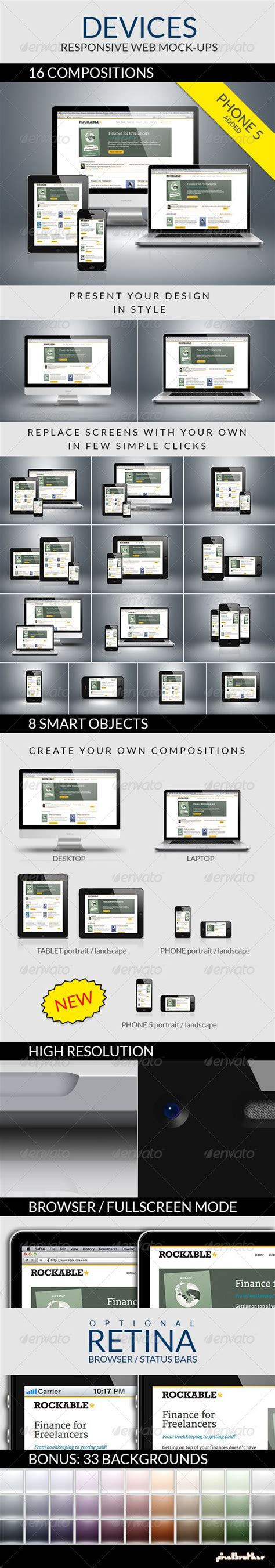 iphone device layout devices responsive web mock ups blurred background