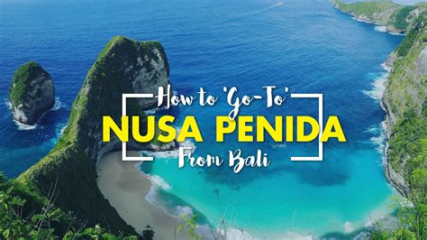 best boat to nusa penida how to go to nusa penida from bali