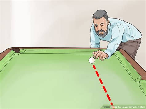 How To Level A Pool Table by How To Level A Pool Table 14 Steps With Pictures Wikihow
