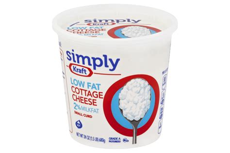 kraft cottage cheese kraft cottage cheese kraft cottage cheese small curd 4
