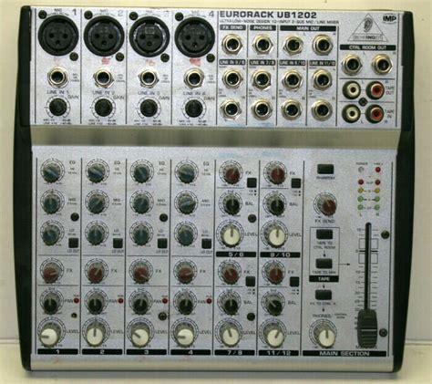 Mixer Behringer Ub1202 behringer eurorack ub1202 mixer ebay