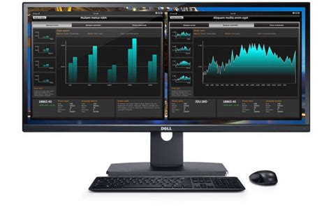Ultra Wide Monitor dell ultrasharp u2913wm 29 inch screen led lit monitor computers accessories