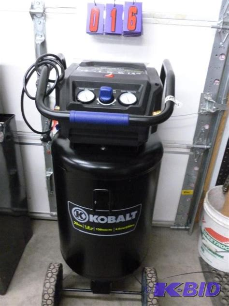 kobalt  gallon  hp air compressor  p sns