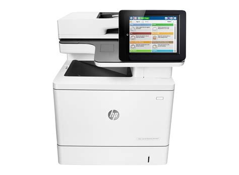 hp color laserjet enterprise mfp m577dn printer hp store