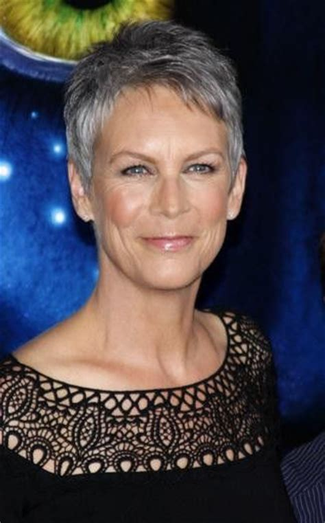 jamie lee curtis with silver hair classy and very short haircut pinterest the world s catalog of ideas