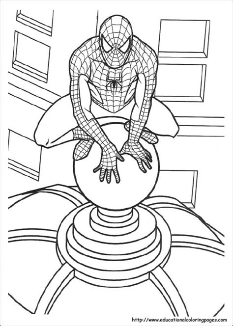 marvel coloring pages spiderman get this spiderman marvel superhero coloring pages