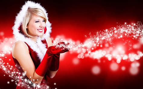 christmas sexy beauty hd wallpaper featured 22 holiday