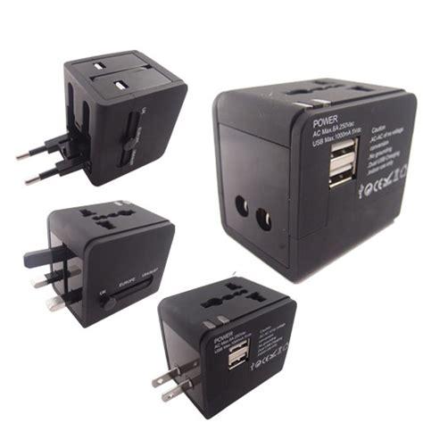 Usb Charger Motor Mobil 2 Port Cocok Untuk Nmax Dan Motor Bebek 3 1a 1 travel adapter universal usb charger 2 port black