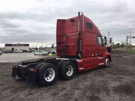 2008 volvo semi truck volvo vnl670 2008 sleeper semi trucks