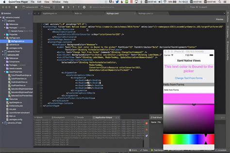xamarin android project properties stackoverflowxchanger adding bindable native views directly to xaml xamarin blog