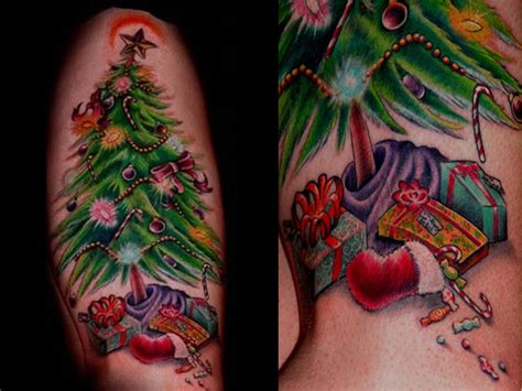 christmas tattoo design ideas tattoos