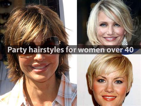 party hair style for aged women party hairstyles for women over 40 hairstyle for women
