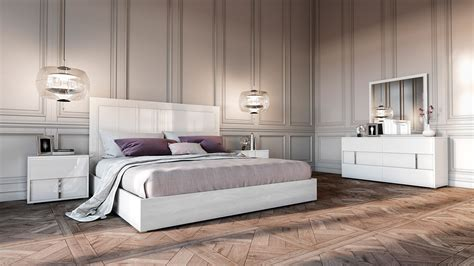 italian white bedroom furniture modrest nicla italian modern white bedroom set